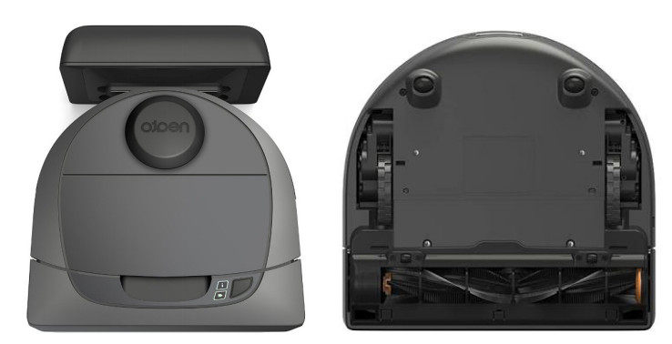 The top and bottom view of Botvac D3