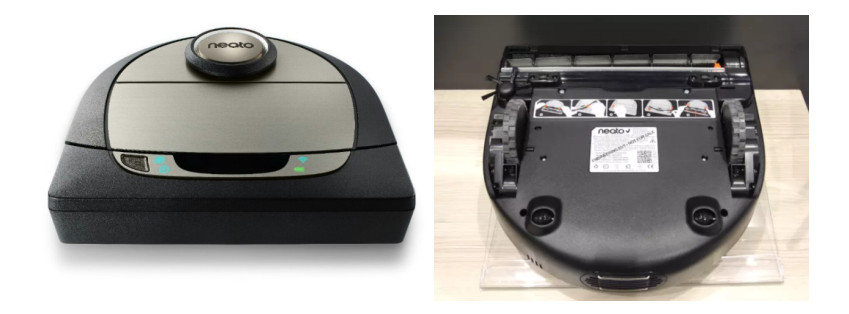 The top and bottom view of Botvac D7