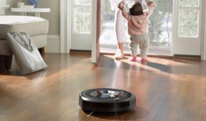iRobot in the living room