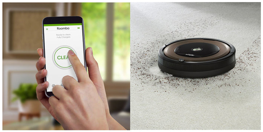 Roomba 890 features Wi-Fi connectivity