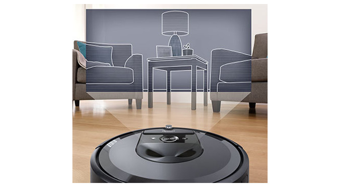 Roomba i7+ features the iAdapt 3.0