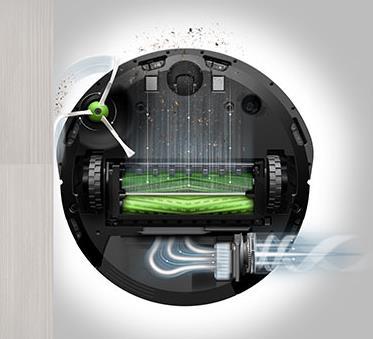 Roomba I7+ Impressive Dirt Detection
