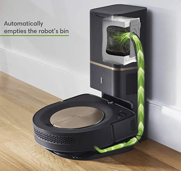 Roomba S9+ charge